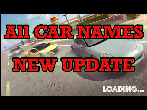 All Car Names And Year Model In Car Parking Multiplayer