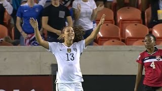 USWNT - Alex Morgan Wins CONCACAF Female Player of the Year 2016 (Olympics Qs Highlights) - 1-17-17