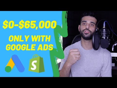 How To Make $65,000 Shopify Dropshipping With Google Ads ONLY (Tips To Always Succeed With Google) thumbnail