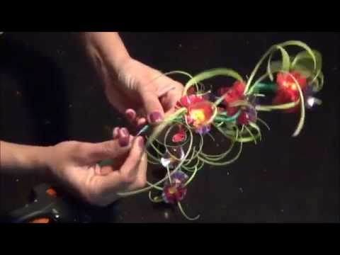 Recycled Plastic: DIY Flower Showpiece Make with Plastic Bot