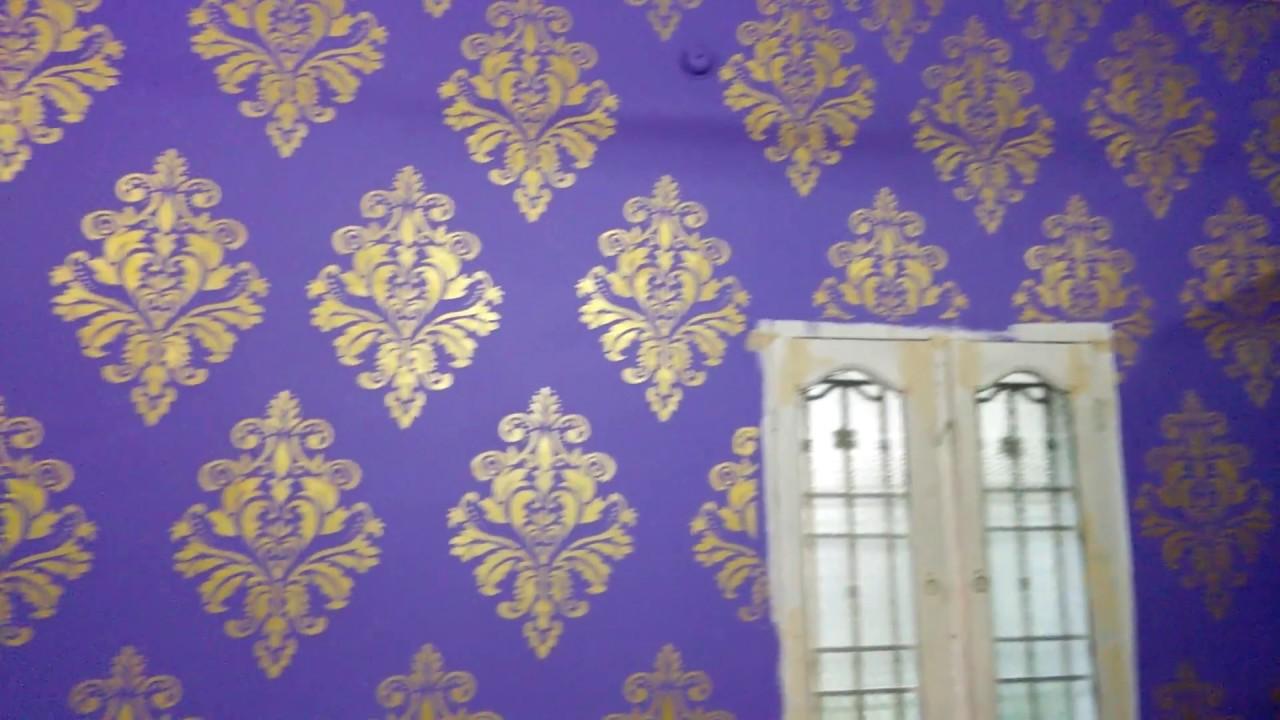 Asain paint New Wall fashion Disgin stencils ...