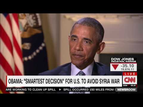 CNN Reporter Calls Obama's Statement About Lack of Intervention in Syria 'A Little Bit Disingenuous'