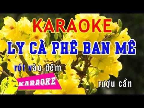 Ly Cà Phê Ban Mê Karaoke || Beat Chuẩn