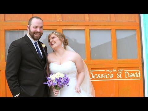 Jessica + David Wedding Feature Film - Dock580 The Loft - Columbus, Ohio