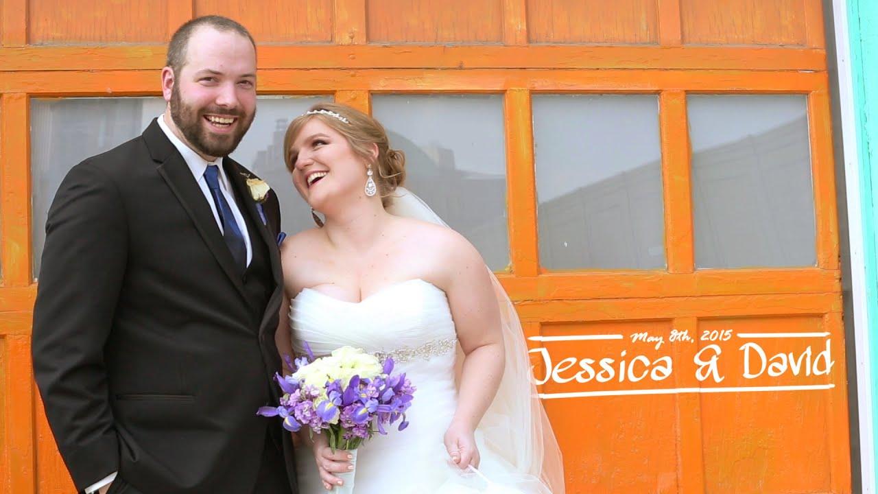 Jessica + David Wedding Feature Film - Dock580 The Loft - Columbus ...