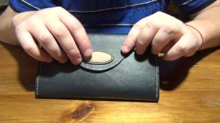 женский кожаный кошелёк, но  больше болтовни !:)))