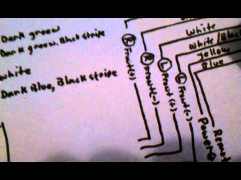 2012 Chevy Sonic Radio Wiring Diagram 2012 Chevy Cruze Line Out Converter Installation Youtube