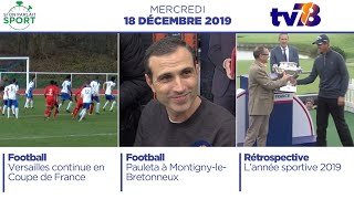 Si On Parlait Sport. Emission du mardi 18 décembre 2019