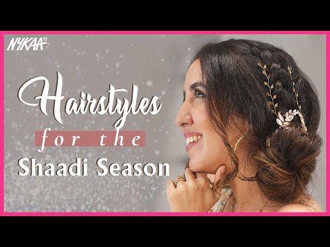 picture-perfect-hairstyles-for-the-wedding-season-|-easy-diy-hairstyles-for-mehndi/haldi-|-nykaa