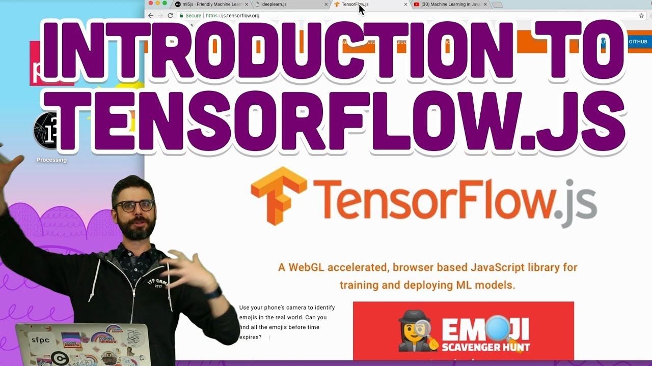 6 1: Introduction to TensorFlow js - Intelligence and Learning