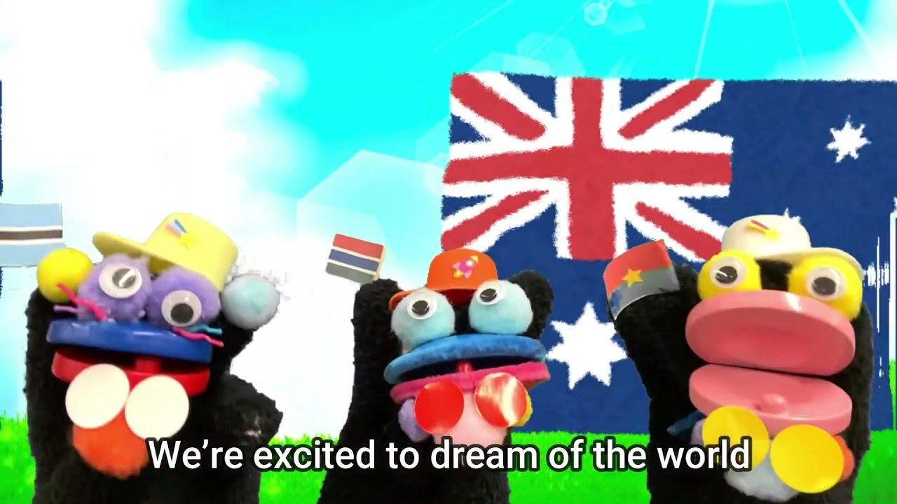 """""""World Flags"""" 「世界国旗の歌」"""