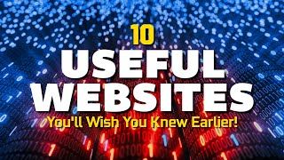 10 Useful Websites You'll Wish You Knew Earlier! 2020