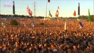 Glastonbury 2011 - Reverse Mexican Wave