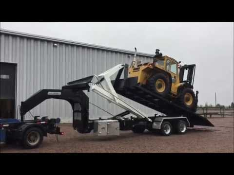 09 - CL302DGN20- TRAILER 30,000 lbs Capacity, 20 foot