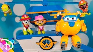 Щенячий патруль Новые серии Щенки идут в гости Супер Крылья Развивающие мультики для детей Игрушки