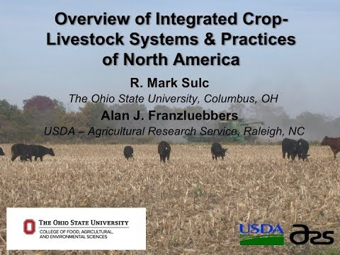Overview of Integrated Crop-Livestock Systems
