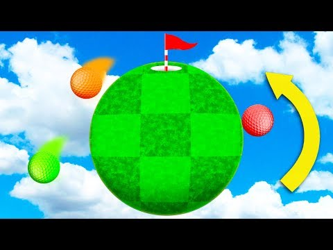 GRAVITY DEFYING HOLE IN ONE! (Golf It)