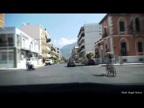 Driving in Kalamata