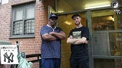 Hip-Hop Museum? Grandmaster Caz showed us his crib in the Bronx!