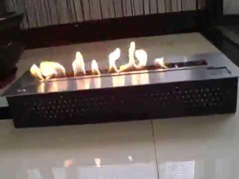 quemador etanol remoto bio chimenea etanol electrnico afire encendido y extinction