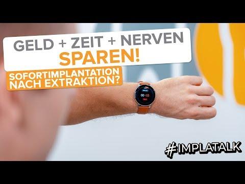 Sofortimplantation Nach Zahnextraktion - Vorteile & Nachteile Von Sofortimplantaten!