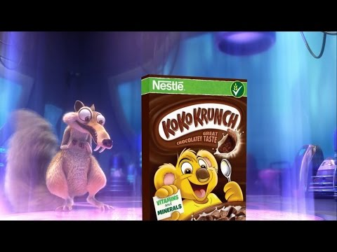 Nestle Koko Krunch - Get the free Ice Age Collision Course UFO Flyer!