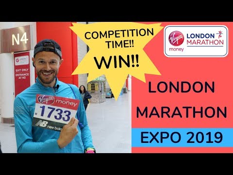 LONDON MARATHON EXPO!  New COMPETITION and my Race PREDICTIONS!