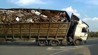 【トラック】2014年7月の交通事故動画まとめ。ドライブレコーダー (2)