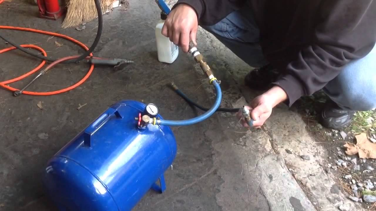 How to Fill an Air Tank