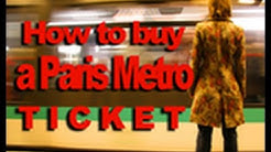 How to buy a Paris Metro Ticket
