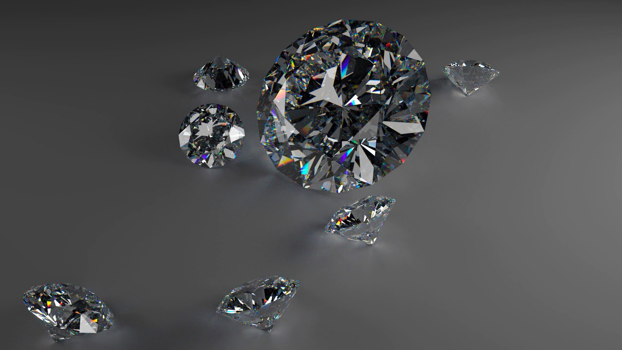 Picture of black diamond redhead clip