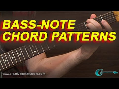 GUITAR THEORY: Bass-Note Patterns Over Chords