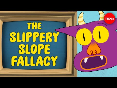 Video image: Can you outsmart the slippery slope fallacy? - Elizabeth Cox