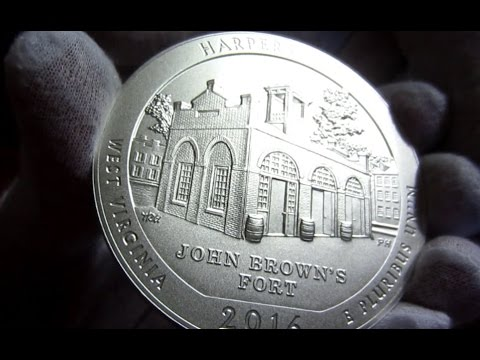 Unboxing New 2016 ATB 5 Oz Silver Coins From US Mint!