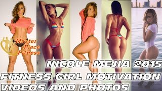 ? Nicole Mejia Fitness Model ✅???? | Fitness Girl Motivation Videos and Photos | Workout Traiining