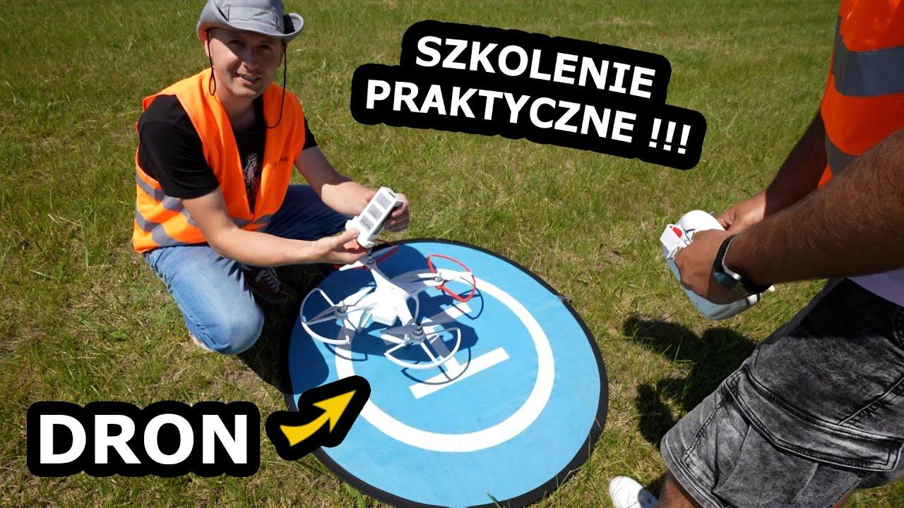 Egzamin Praktyczny na Operatora Drona !!! - Jak to Wygląda? *Latam Dronem DJI Phantom, VLOS (#559)