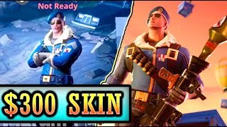 *NEW* $300 ROYALE BOMBER SKIN! (PS4 EXCLUSIVE) Fortnite Rarest Skin