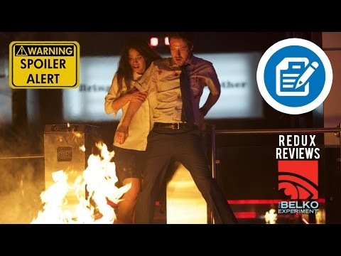 The Belko Experiment 2017 Review | The Hollywood Redux Podcast | Spoilers | James Gunn, Greg Mclean
