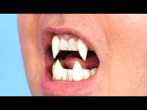 Surprise Werewolf Teeth!