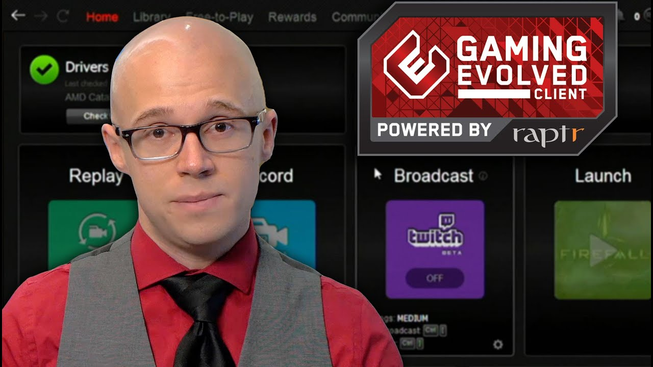Amd Gaming Evolved Raptr App Faq Community