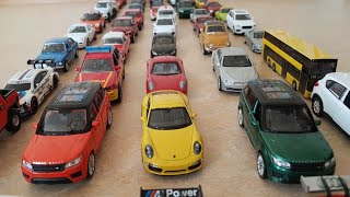 Cars for Kids: Lots of Toy Cars Welly Cars with Dlan