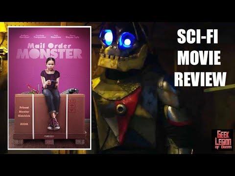 MAIL ORDER MONSTER  2018 Charisma Carpenter  Family SciFi Movie