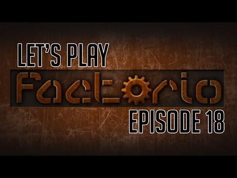 Let's Play Factorio Vanilla - Episode 18 : Roboport personnel