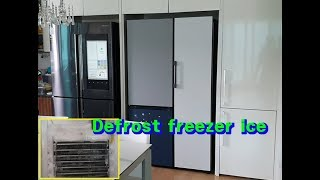 How to defrost ice from Refrig…
