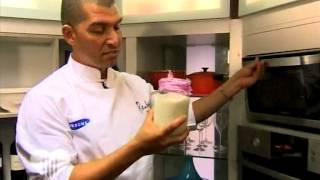 Samsung Celebrity Chef - Reuben Riffell Shares His Lamb Dish