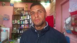 زيارة إلى المحل التيجاري  للاخ واحد ابطال جمعية بوسكورة ببوسكورة  انه يوسف