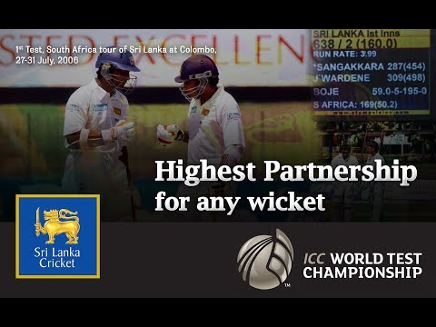 Highest partnership for any wicket | Mahela Jayawardene and Kumar Sangakkara