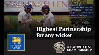 Highest partnership for any wicket | Mahela Jayawardene and Kumar Sangakkara