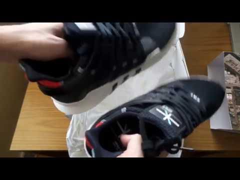 adidas eqt unterstützung sind 91 / 16 wicker park chicago unboxing youtube