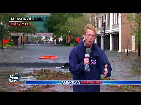 Historic Flooding Expected In Jacksonville, Florida